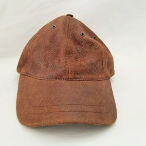 Wilsons Leather Distressed Leather Hat